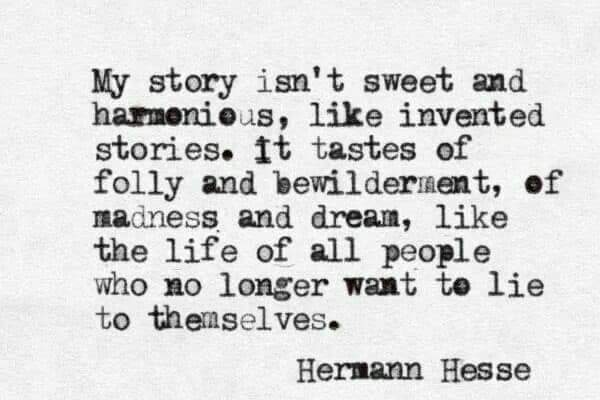 What does your story taste like?